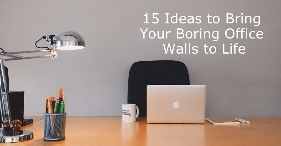 Office Wall Decorating Ideas: 15 Office Wall Art Ideas You'll Love