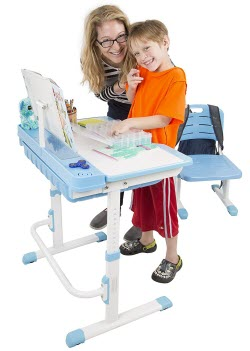 Einstein Kids Adjustable Desk and Chair Set