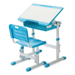 SLYPNOS Ergonomic Adjustable Children's Desk Set