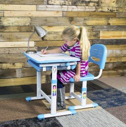 VIVO Height-Adjustable Children's Desk & Chair Set