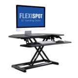 FlexiSpot 36 in. Cubicle Corner Standing Desk Riser