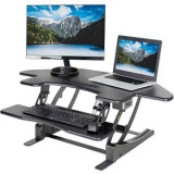VIVO 43.5 in. Corner Electric Standing Desk for Cubicles