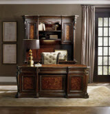 Hooker Furniture Grand Palais Executive Desk in Dark Walnut
