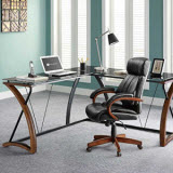 Whalen Furniture Newport L-Shaped Desk