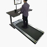 fitbill f.Walk Smart Under Desk Treadmill with Remote