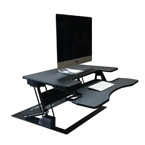 FancierStudio Riser Desk Standing Desk Converter - Best Cheap Varidesk Alternative