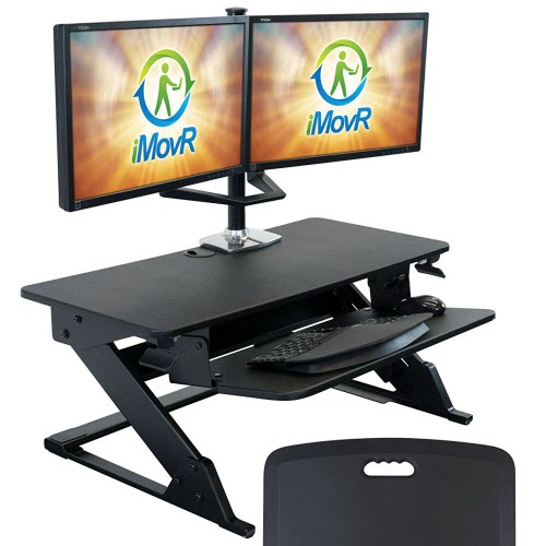 iMovR ZipLift+ - Best Ergonomic Varidesk Alternative